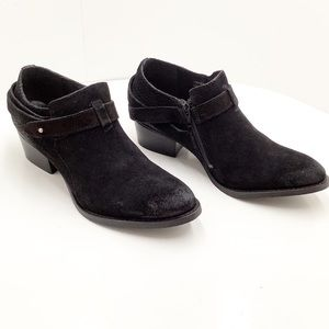 🆕{Charles David} Yesenia Distressed Suede Booties